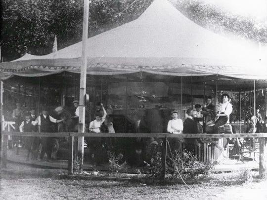 Long ago, carousels were as plentiful as dandelions