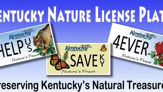 Nature plates and sold as a way to preserve Kentucky's natural treasures, but Gov. Matt Bevin's proposed budget would raid the plate's fund for other purposes.