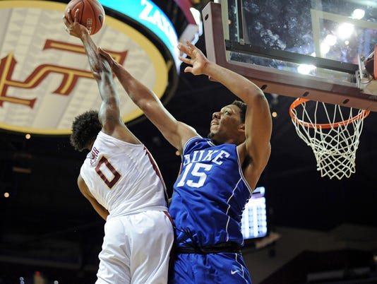NCAA Basketball: Duke at Florida State