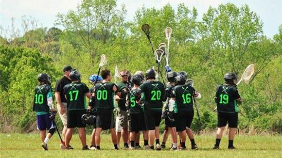 Carolina Gladiators lacrosse.
