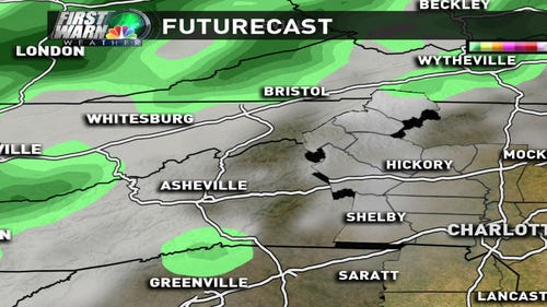 FutureCast of this weekend's wintry mix