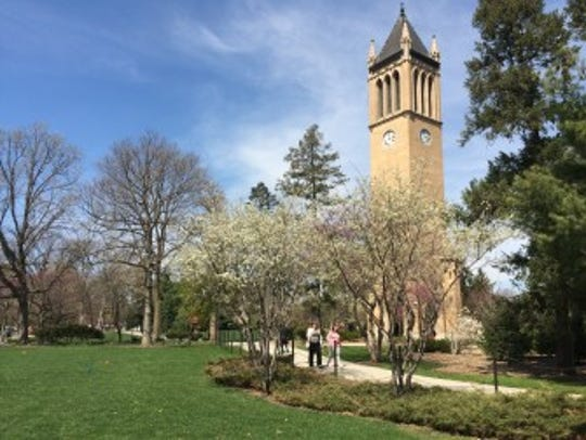 Iowa State University reported an increase in its external
