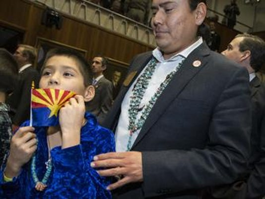 """Did immigration activist really ask whether Navajo is """"legal""""?"""