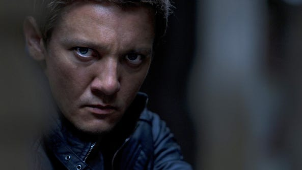 Jeremy Renner in 'The Bourne Legacy.' Author Stephenie