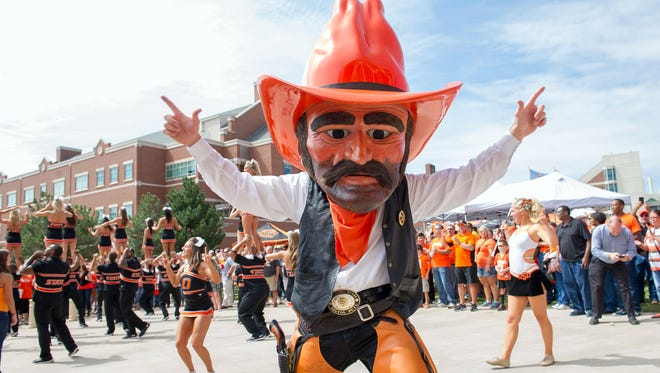 Oklahoma State and Ohio State look to be headed toward a trademark showdown over the use of OSU.