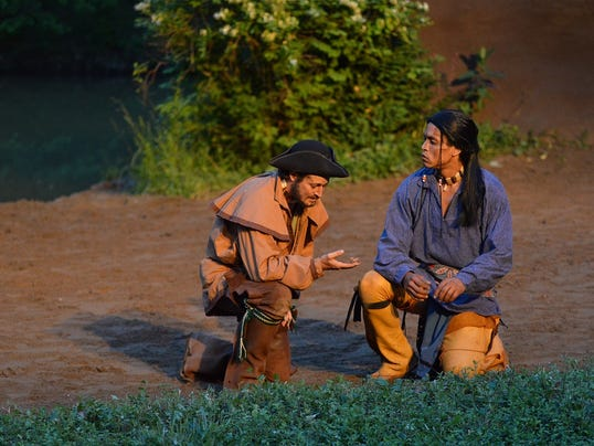 Tecumseh honored by tripadvisor for Outdoor drama