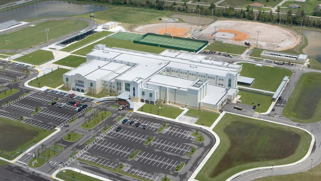 On Nov. 8, a mock-up of the design for the Bonita Springs high school was posted to the school's website.