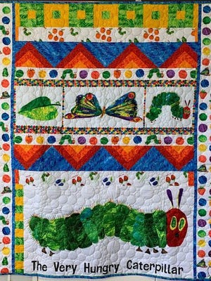 The annual quilt raffle for the Dolly Parton Imagination Library takes place on Wednesday, July 15, at the Ionia County Intermediate School District, 2191 Harwood Road, in Ionia.