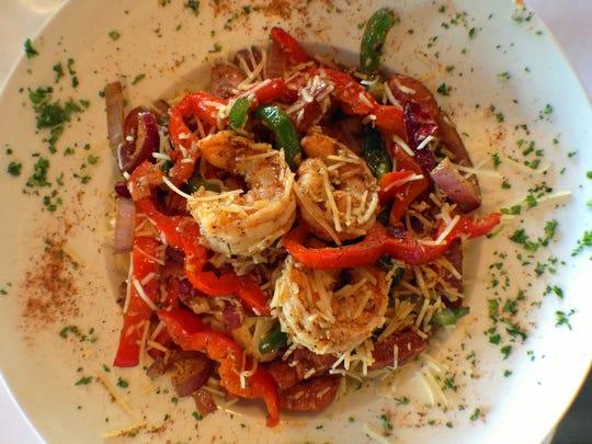 hot dish slate's New Orleans Alfredo