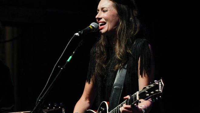 Lera Lynn performs at the  Americana Music Festival & Conference last year in Nashville.