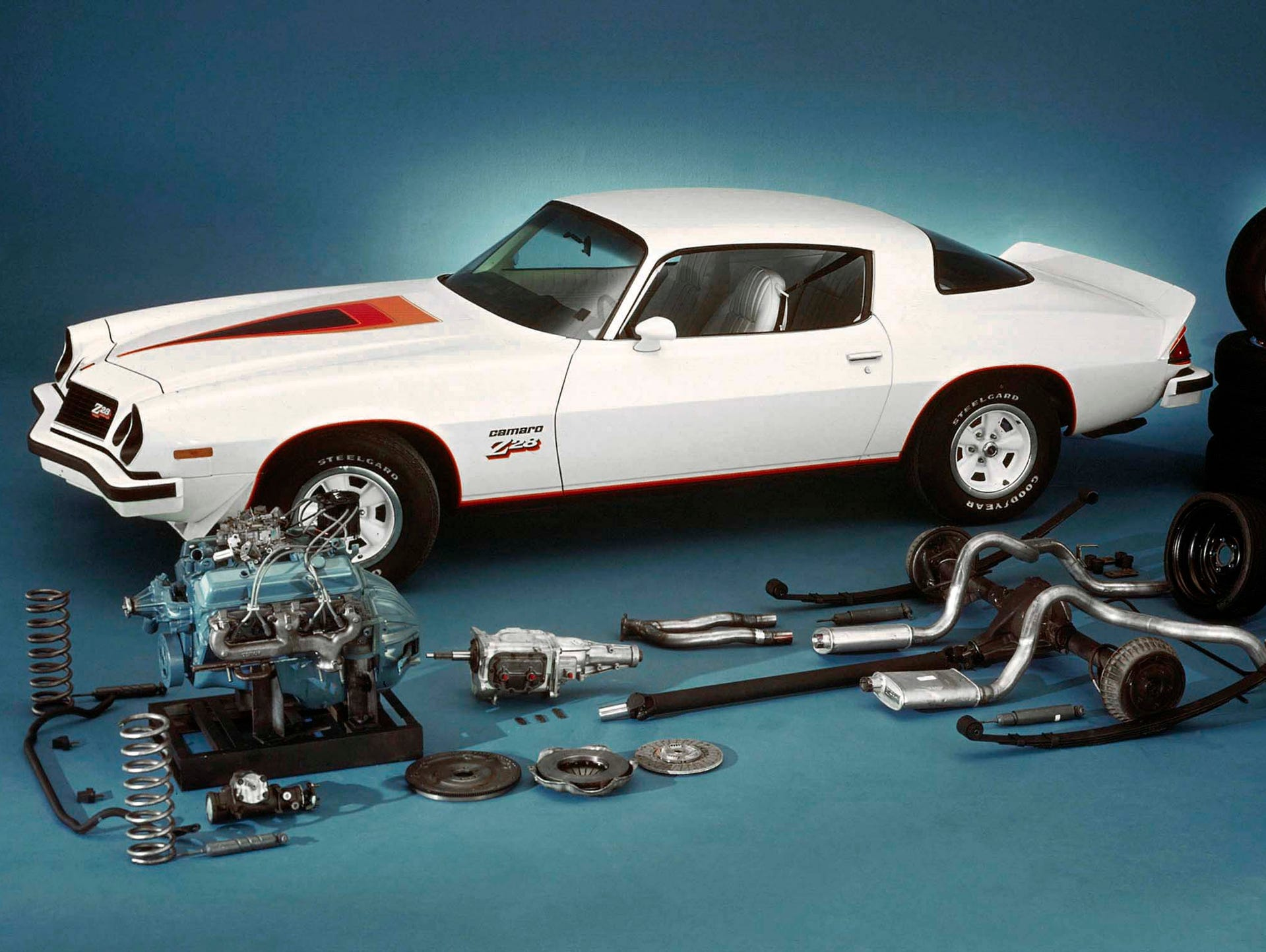 1977: The Z28 was back as Camaro (and Firebird) sales
