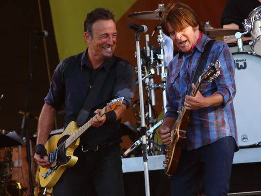 Bruce Springsteen and John Fogerty