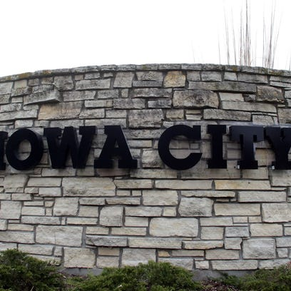 Iowa City sign