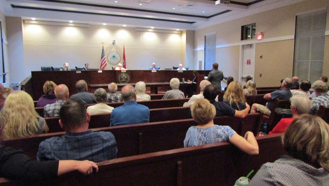 A large number of voters attended the City Candidates Forum held at Fairview City Hall.