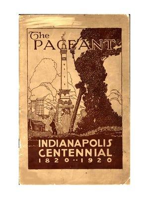 Centennial pageant program