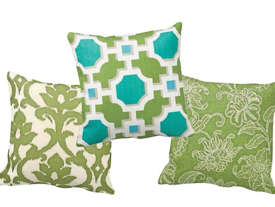 Handmade decorative pillow covers from FineFreshDesign.etsy.com