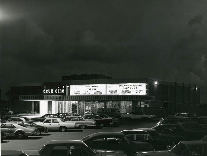 Deux Cine, on S. Staples Street in Corpus Christi,