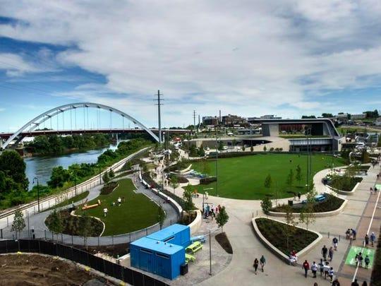 Ascend Amphitheater opened on Nashville's riverfront