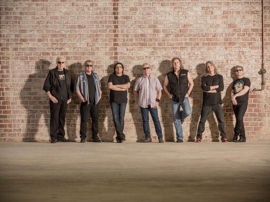 Kansas, made up of Richard Williams, Billy Greer, Zak Rizvi, Phil Ehart, Ronnie Platt, David Manion and David Ragsdale, will release its first album in 16 years on Sept. 23.