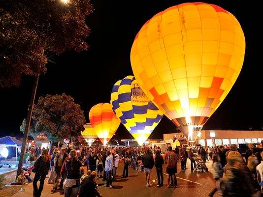 Page Lake Powell Hot Air Balloon Regatta