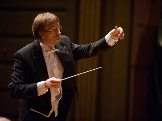 Eckart Preu became the fifth music director of the Cincinnati Chamber Orchestra after his Summermusik performance.