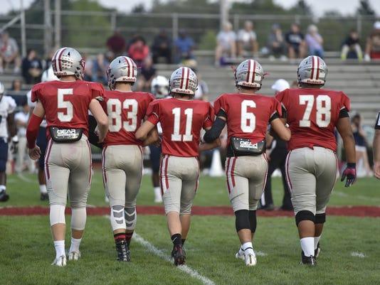 Sandusky at Shelby Football  2016