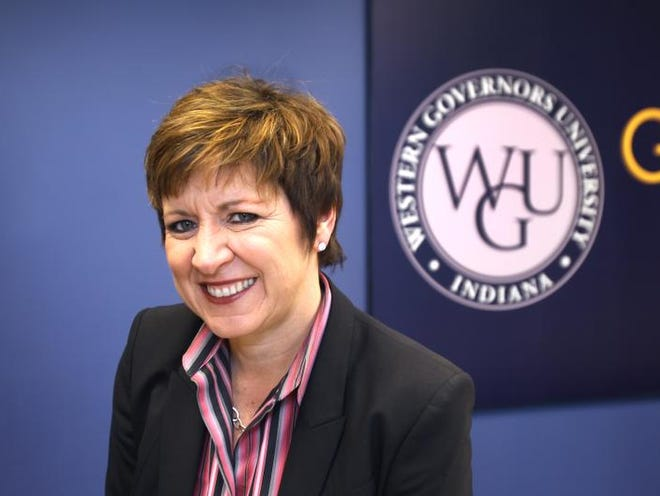 Allison Barber is the chancellor of WGU Indiana. She said the school offers flexibility, allowing students to study at their own pace.