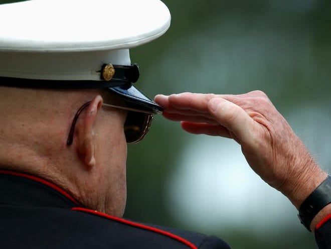 Old Marine Salutes