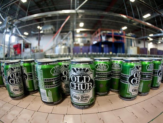 Oskar Blues Brewery's Old Chub Scotch Ale is brewed with malted barley and grains that evoke flavors of cocoa, coffee and smoke.