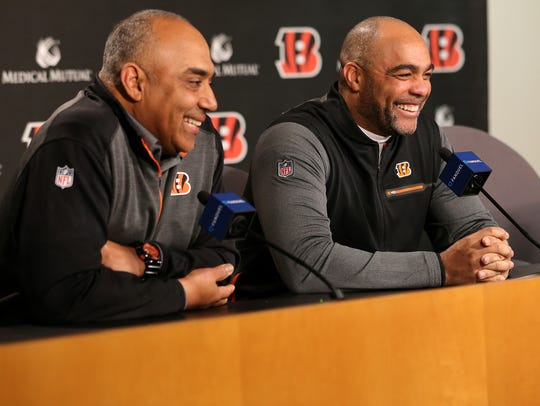 The Cincinnati Bengals introduced Teryl Austin as defensive