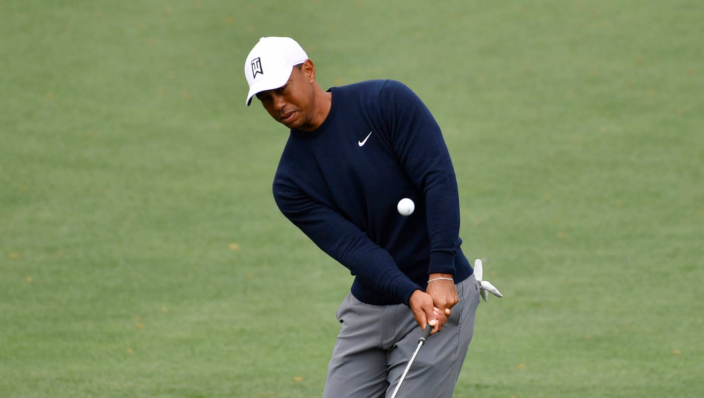 Masters Tiger Woods tracker: All the major moments from the first round at Augusta National