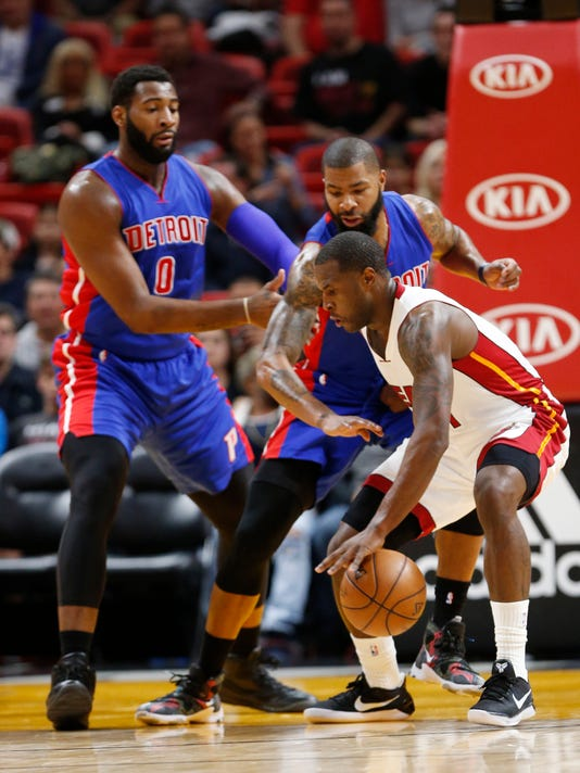 Andre Drummond, Marcus Morris, Dion Waiters