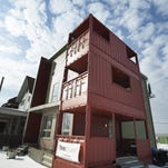 Shipping container projects spread out in Detroit