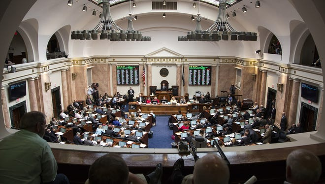 File photo of the inside of the Kentucky State Capitol. March 2016