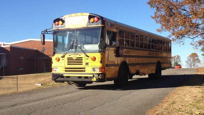 Robertson County school bus.