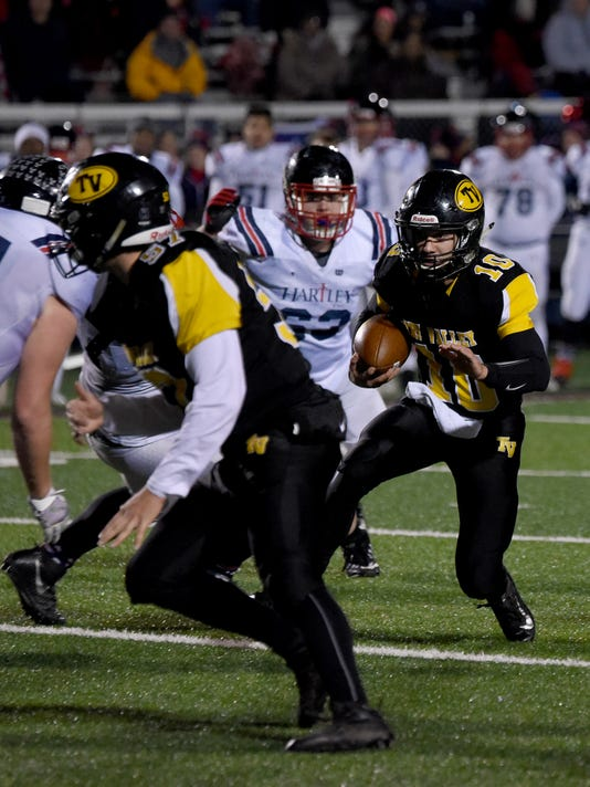 Tri-Valley 13, Bishop Hartley 9