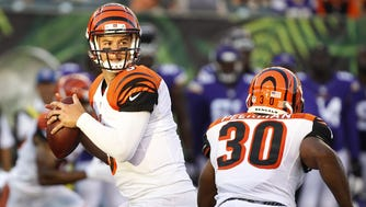 Bengals QB AJ McCarron is waiting for an opportunity to start in the NFL.