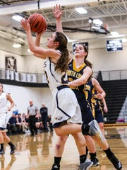 Michelle Moraitis played a key role as point guard