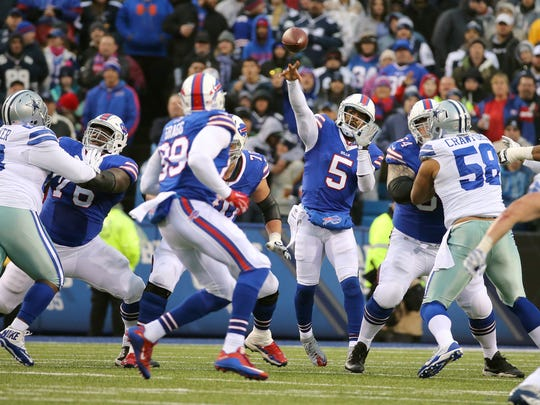 Bills QB Tyrod Taylor threw for 179 yards in a 16-6 win over Dallas.