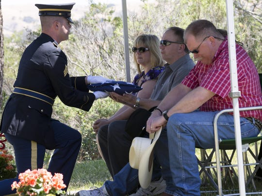 Jimmy Reeder was a veteran whose family celebrated his life on Armed Forces Day, May 16, an unintentional coincidence.