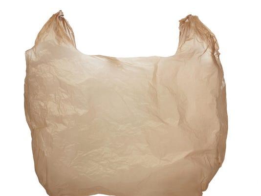 Plastic grocery bag ThinkstockPhotos