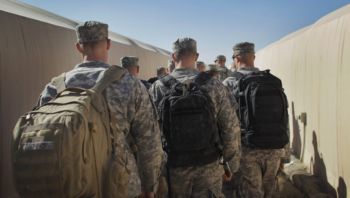 Army disqualifies 588 soldiers after sexual assault review