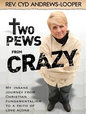 """""""Two Pews From Crazy"""" by Cyd Andrews-Looper."""