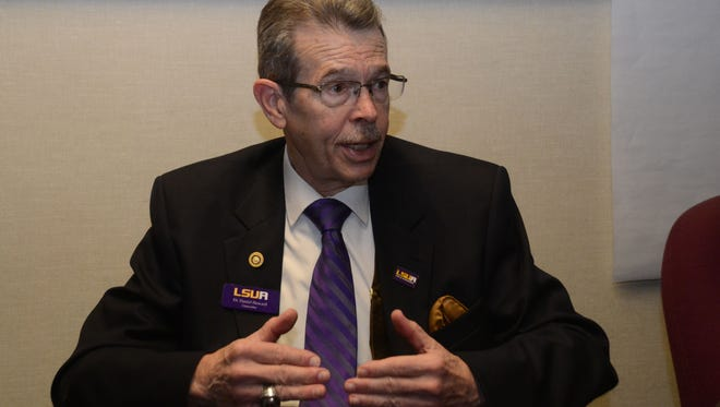 Daniel Howard, LSUA chancellor, said the school is making contingency plans for financial exigency.