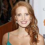 Jessica Chastain arrives at 'The Disappearance Of Eleanor Rigby: Him And Her' premiere during TIFF.