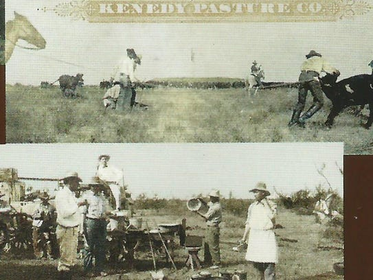 3. The cowboys (vaqueros) at the Kenedy Ranch were