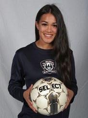 La Quinta High School soccer player Tatiana Woodworth.