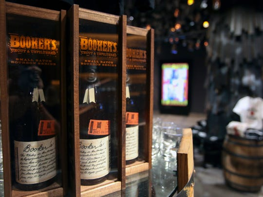 The Jim Beam Urban Stillhouse offers a large variety of products and the ability to have them customized. Sept. 29, 2015