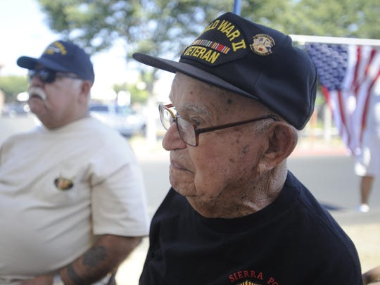 George Gonzalez served in the South Pacific during World War II.
