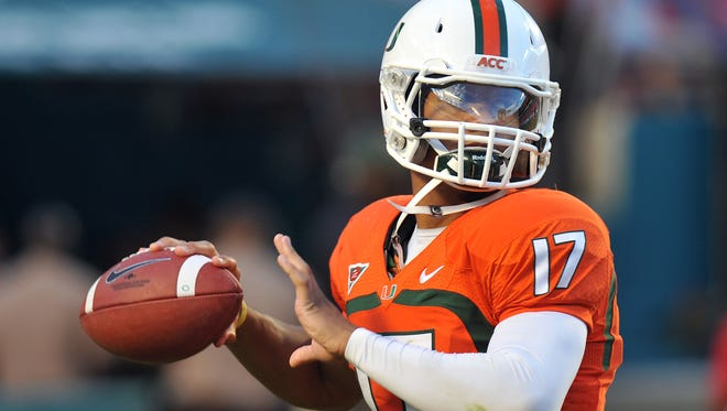If Miami were to reach its potential this season, quarterback Stephen Morris could be a darkhorse Heisman trophy candidate.